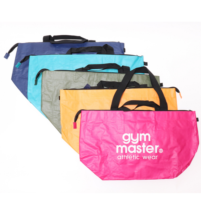 gym master ジムマスター G521664 PPトートバッグ 大容量 カラフルバッグ