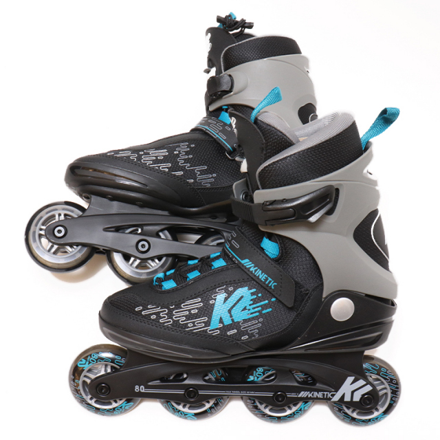 K2 インラインスケート KINETIC 80 PRO M メンズ BLACK/BLUE