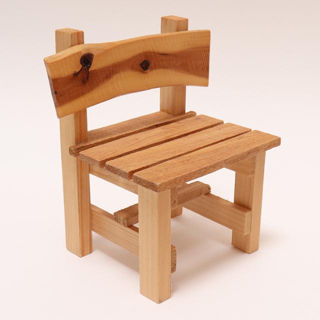 木のぬくもり雑貨 手作り 木製玩具 木製 チェア いす 色柄1点もの