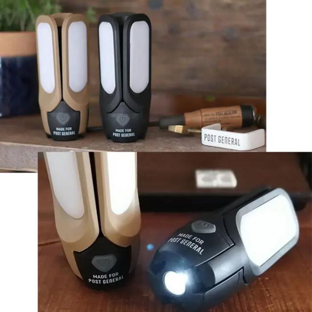 POSTGENERAL(ポストジェネラル)SOLER LEDライト/98217-0003 KHAKI/98207-0020 BLACK/98207-0019 SANDBEIGE