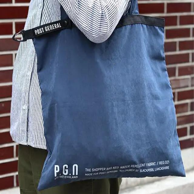 POSTGENERAL(ポストジェネラル)ショッパーバッグネオ SHOPPER BAG NEO エコバッグ トートバッグ