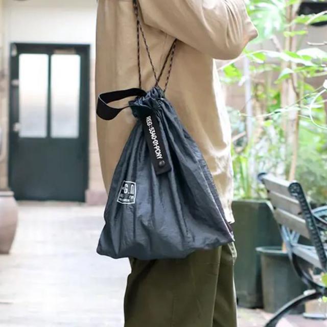 POSTGENERAL(ポストジェネラル)パラシュートナイロンバッグ PACKABLE PARACHUTE NYLON BAG