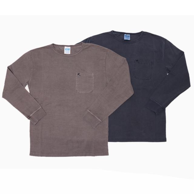 ROKX(ロックス) ロングTシャツ  RXMF204118 ウォッシュ加工ロングTシャツ コットン100% ゆうパケット対応商品