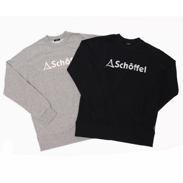 Schoffel(ショッフェル)45008 LOGO SWEAT CREW スウェットシャツ トレーナー