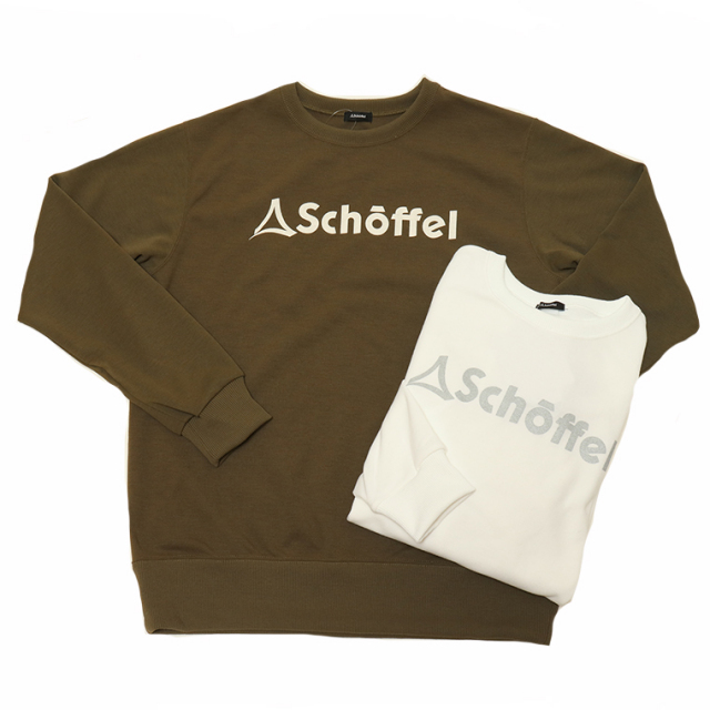 Schoffel(ショッフェル)45016 DRYJERSEY CREW LOGO スウェットシャツ トレーナー