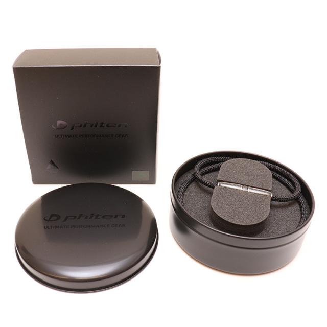 Phiten(ファイテン) RAKUWAネックX100 カーボン ブラック50cm