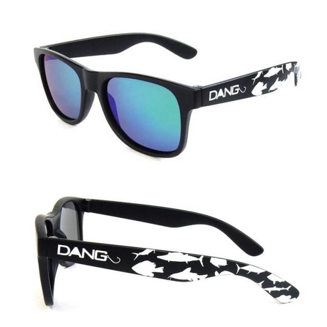 Dang Shades サングラス vidg00413 LOCO Black Matte/Green Mirror Polarized(偏光レンズ) 中村貴之モデル