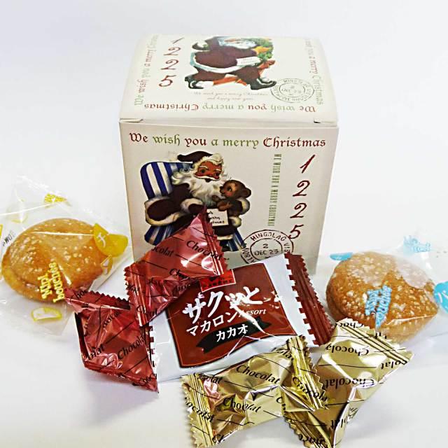大人のクリスマスお菓子箱詰め