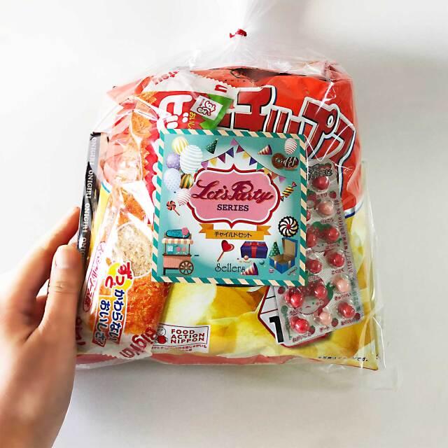 駄菓子セット500円