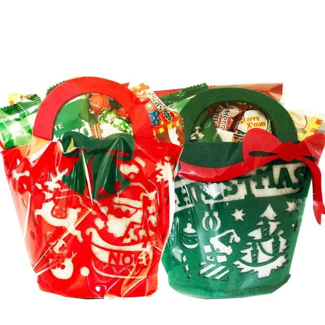 クリスマスお菓子詰め合わせバッグ