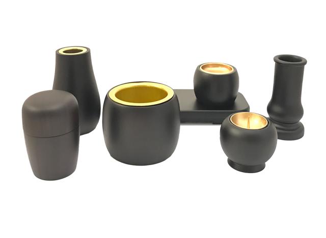 黒檀 C型仏具セット