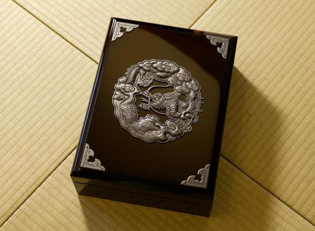 仙台民芸小箪笥 文箱 KM-6D 木地呂漆塗り