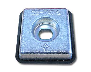 防蝕亜鉛板CZ7A1-1/2