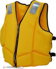 作業用救命胴衣 NS-SL-5型(背抜型) 国土交通省認可 船舶検査品 【2013年改正新基準適合品】
