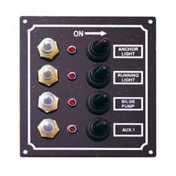BMO LEDスイッチパネル4連