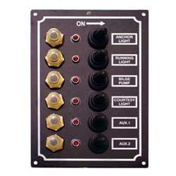 BMO LEDスイッチパネル6連