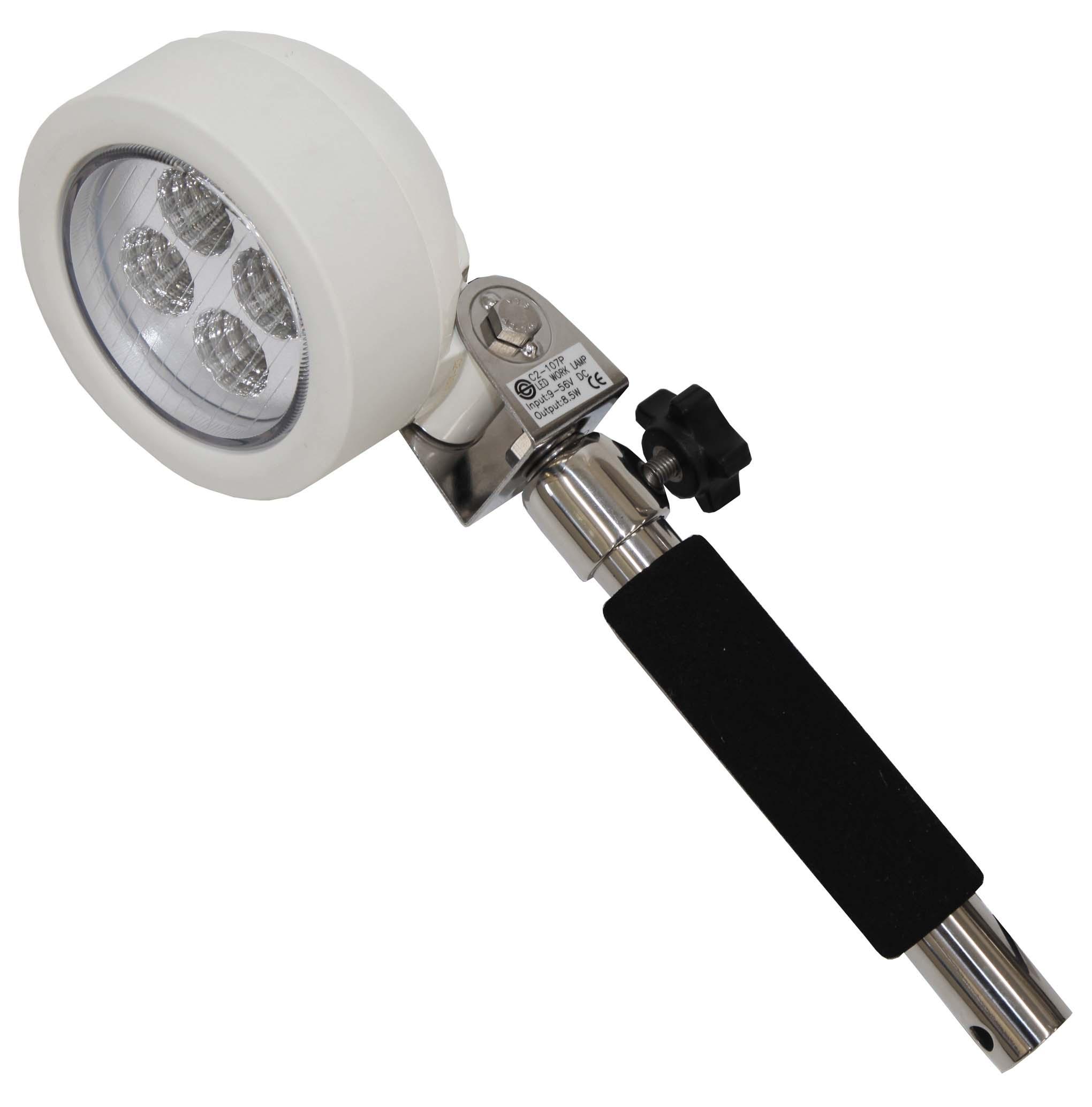 リガー LEDグリップ式金具:M8