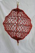 網式紅色球形形象物