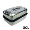 BMO ステンレス横型携行缶 ステンレスタンク 20L [UN規格取得品]