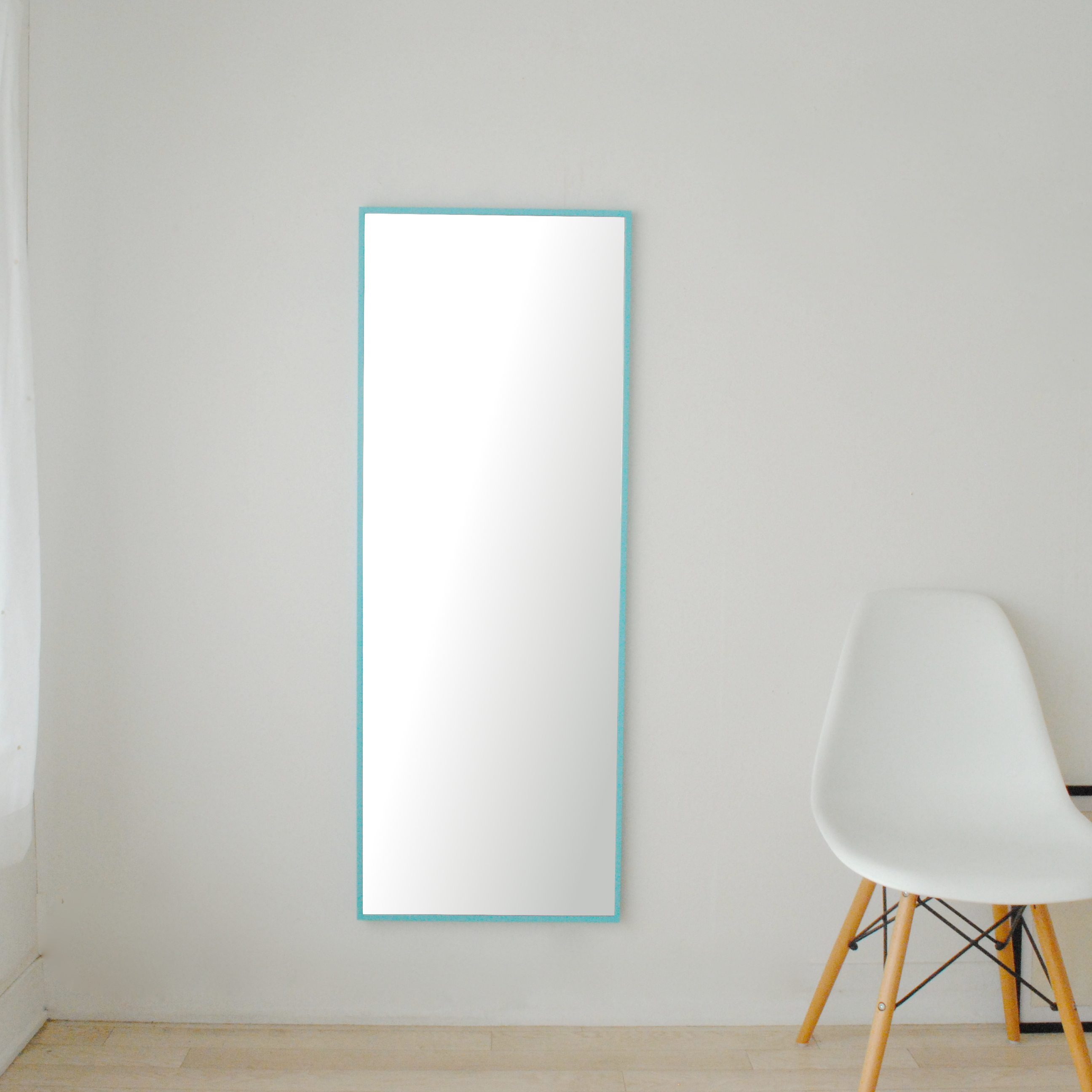 リブラ 46x122cm 全12色 姿見 壁掛けミラー 全身鏡 (通常便商品)