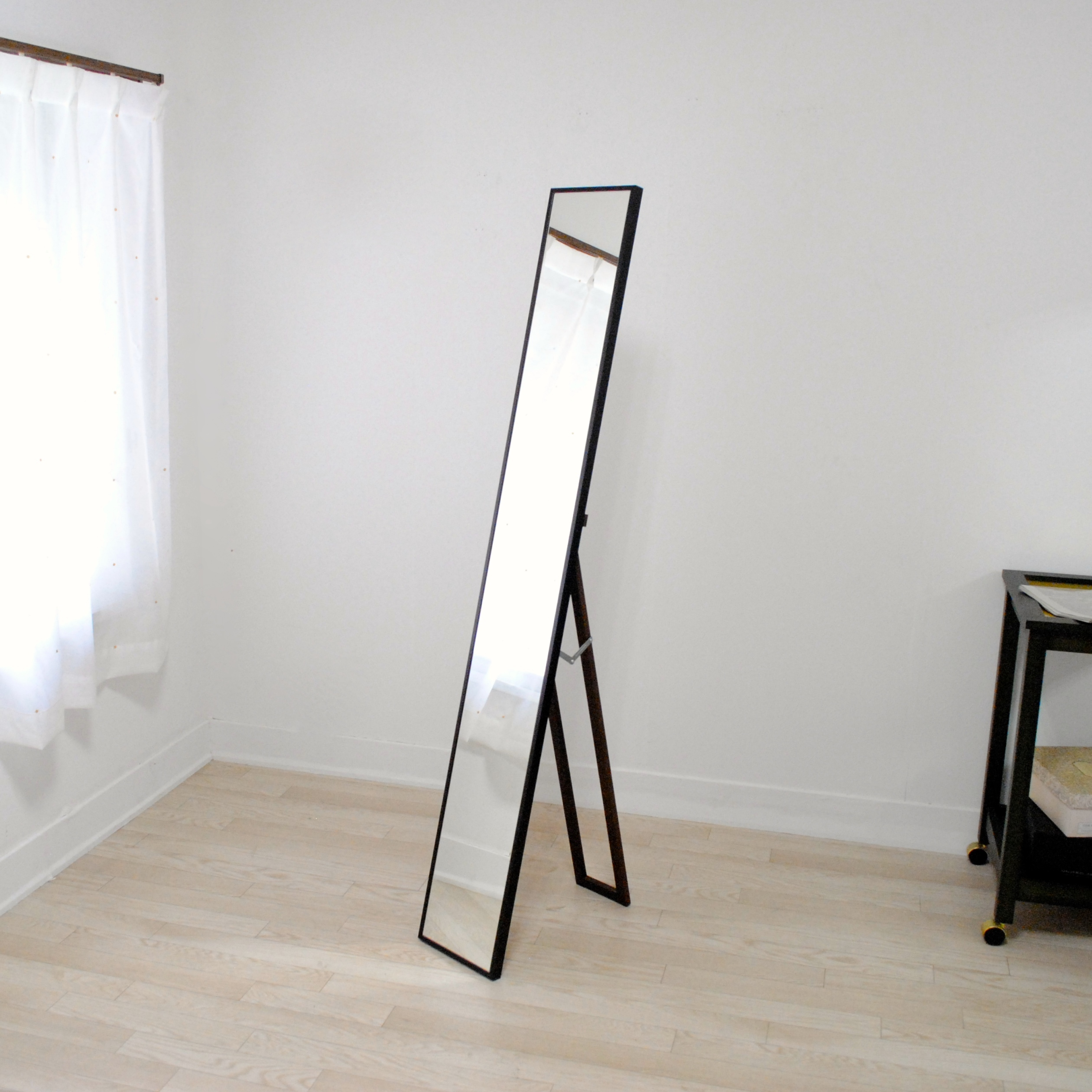 リブラ スタンドミラー 全身 鏡 姿見 天然木 日本製 W220×1530
