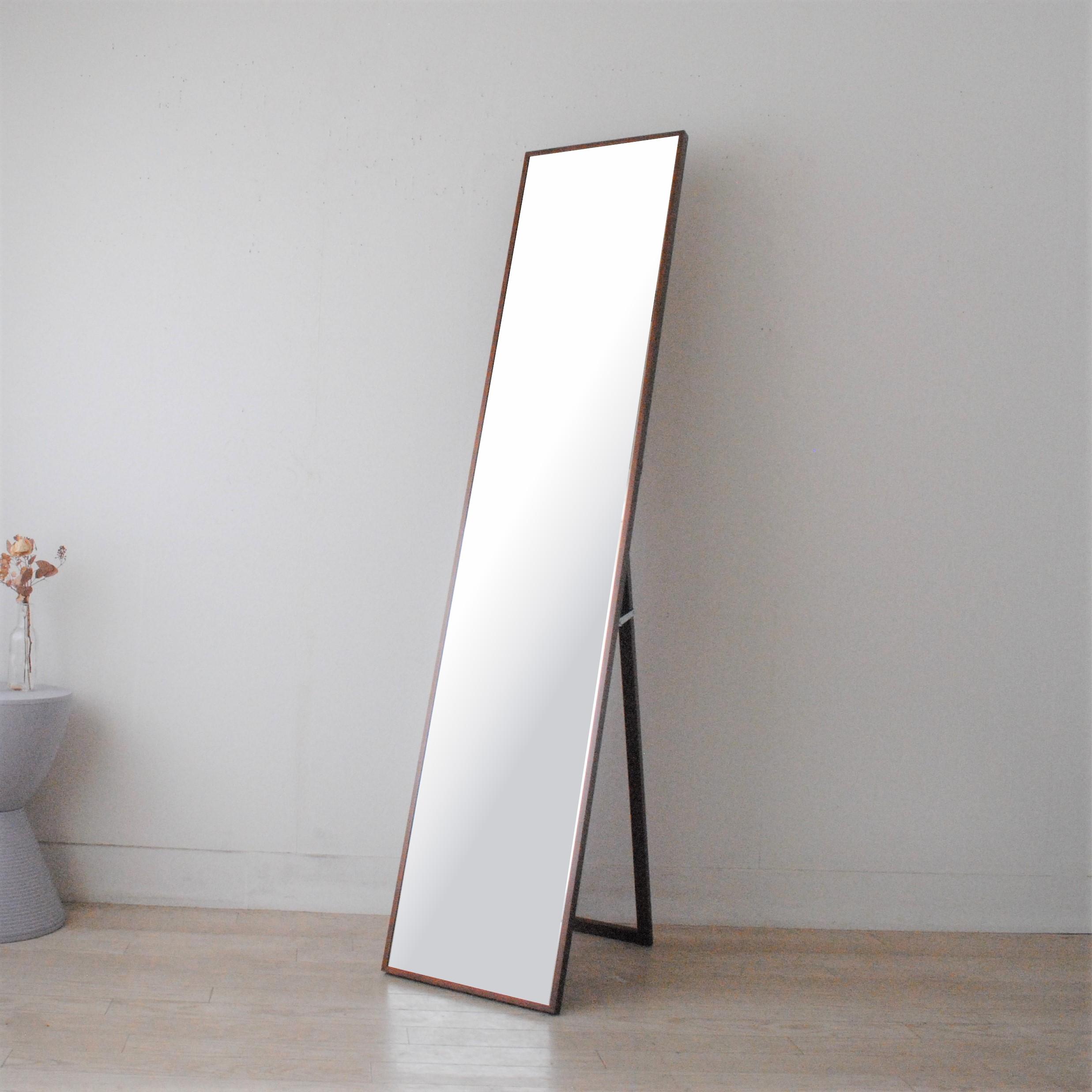 リブラ スタンドミラー 32x153cm 全12色 姿見 全身鏡 (通常便商品)