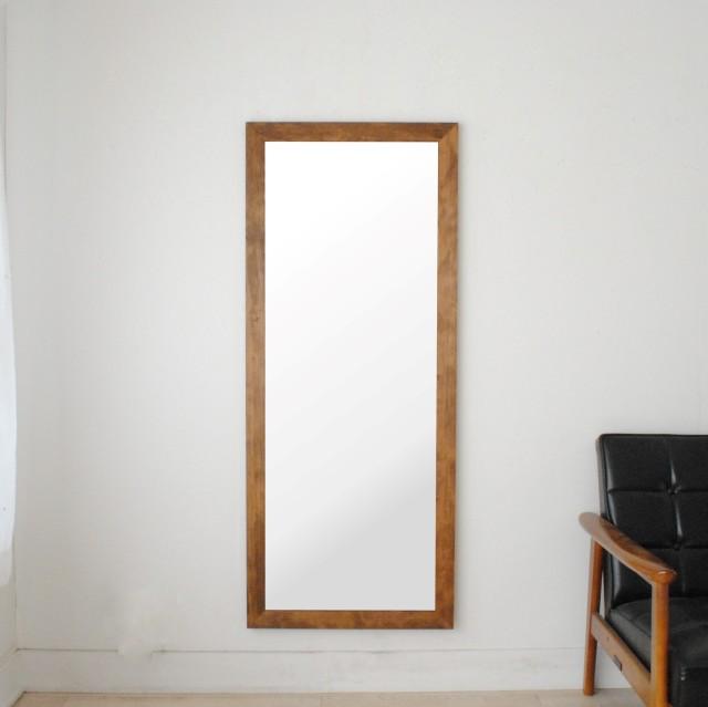 レオン 54x130cm 全3色 姿見 壁掛けミラー 全身鏡 (通常便商品)
