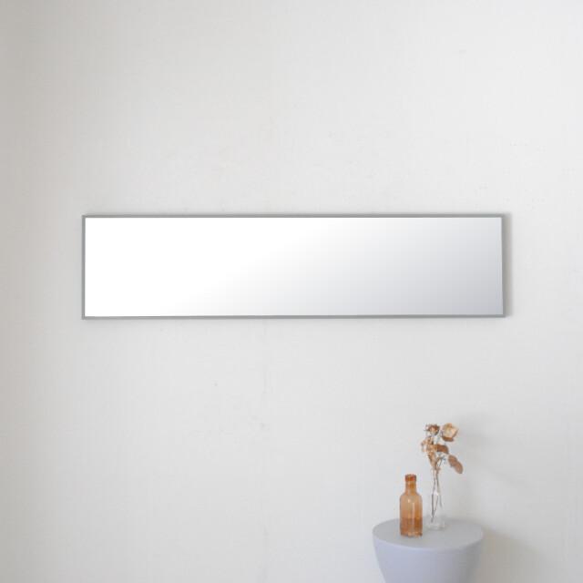 リブラ 30x122cm 全12色 姿見 壁掛けミラー 全身鏡 (通常便商品)