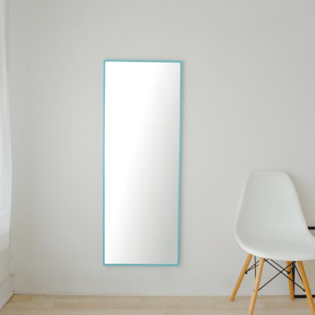 【新サイズ】 リブラ 46x122cm 全11色 姿見 壁掛けミラー 全身鏡 (通常便商品)