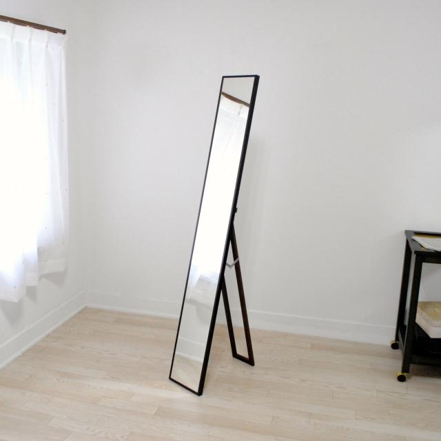 リブラ スタンドミラー 22x153cm 全12色 姿見 全身鏡 (通常便商品)