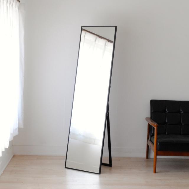 リブラ スタンドミラー 全身 鏡 姿見 天然木 日本製 W320×1530