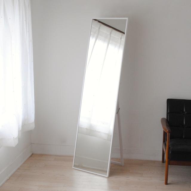 リブラ スタンドミラー 42x153cm 全11色 姿見 全身鏡 (大型商品)