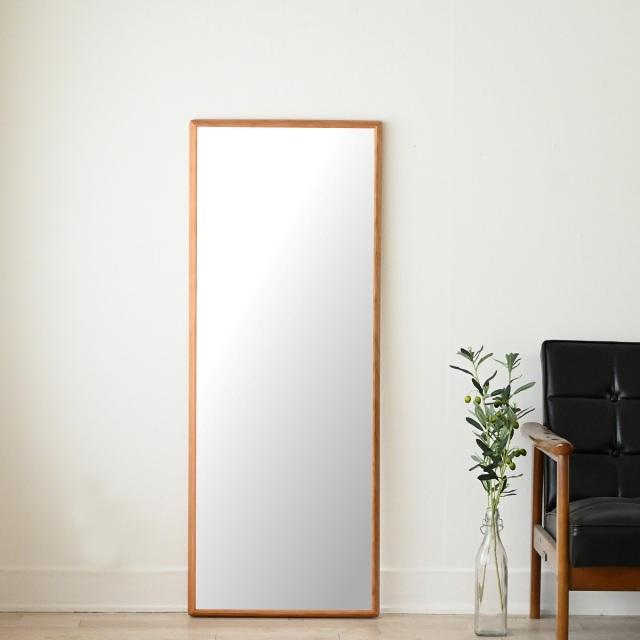 センノキ天然木SENNOKI鏡おしゃれオーダーミラー日本製インスタ全身鏡大型ダンスリブラステラチェリー