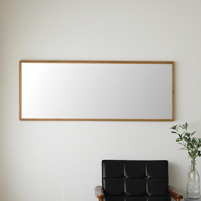 センノキ天然木SENNOKI鏡おしゃれオーダーミラー日本製インスタ全身鏡大型ダンスリブラステラオークナチュラル