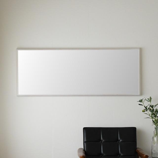 センノキ天然木SENNOKI鏡おしゃれオーダーミラー日本製インスタ全身鏡大型ダンスリブラステラアッシュホワイトインテリア白雪