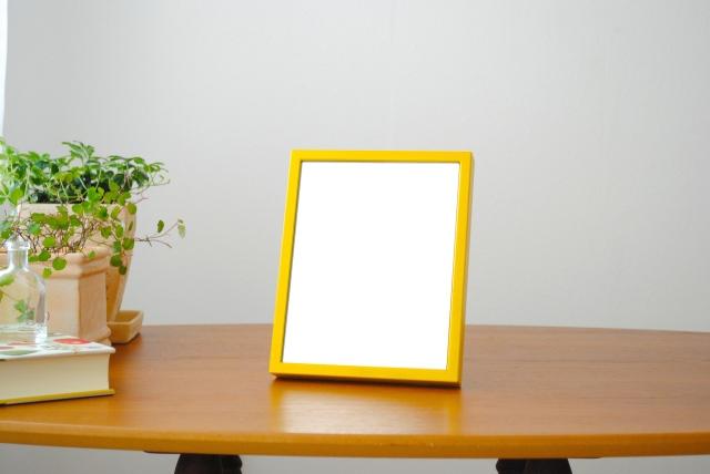 リブラ テーブルミラー 卓上 壁掛け 鏡 W160×200
