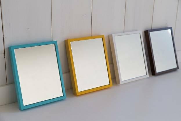 【今なら送料無料】 リブラ 16x20cm 全12色 ギフトボックス入り 卓上ミラー (通常便商品)