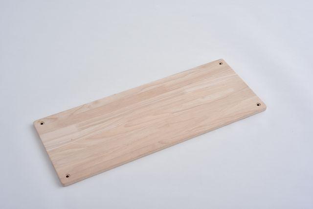 ラバーラック棚板 無塗装750×300
