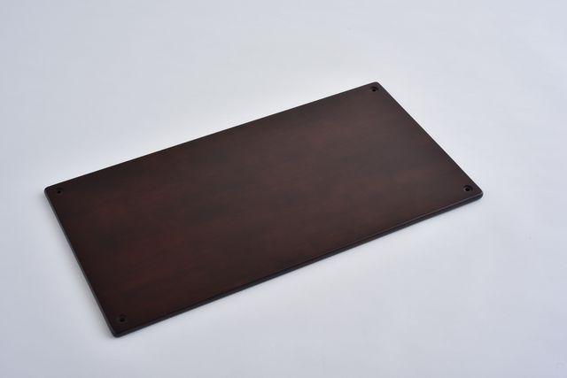 ラバーラック棚板 ブラウン750X400