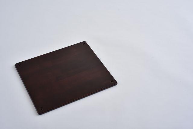 ラバーラック棚板 ブラウン450X400