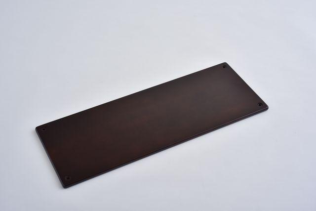 ラバーラック棚板 ブラウン750X280