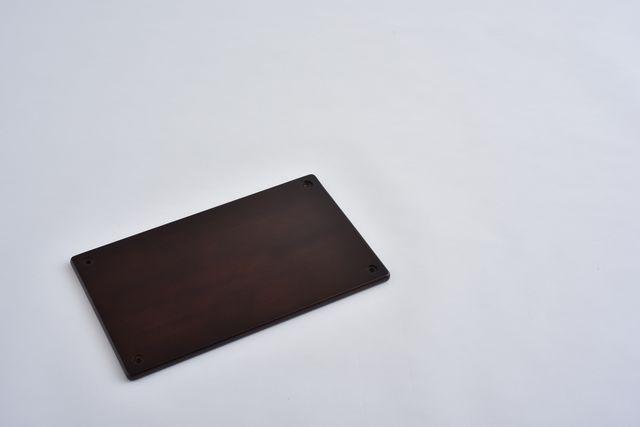 ラバーラック棚板 ブラウン450X280