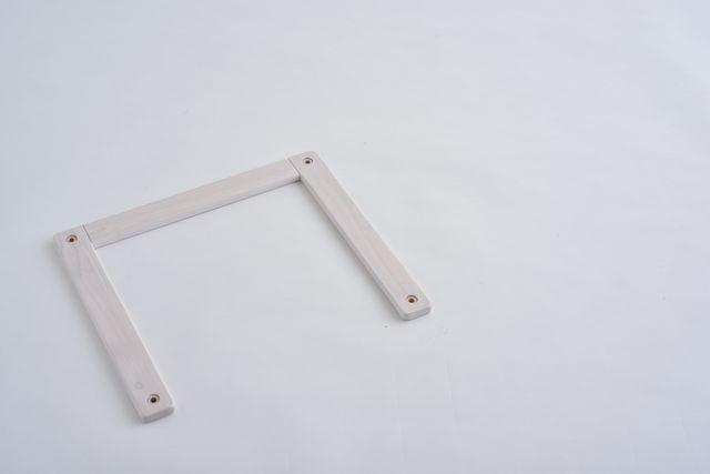 コの字ジョイント ホワイト450X400