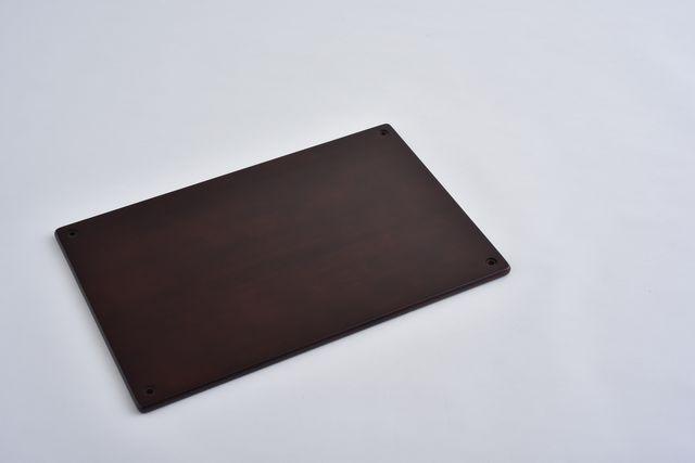 ラバーラック棚板 ブラウン600X400
