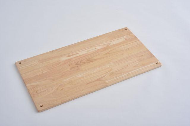 ラバーラック棚板 クリア750X400