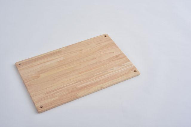 ラバーラック棚板 クリア600X400