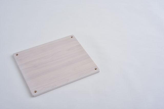 ラバーラック棚板 ホワイト450X400