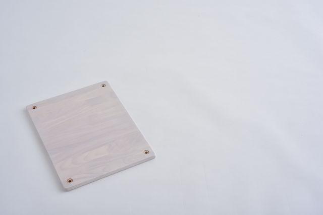 ラバーラック棚板 ホワイト300X400