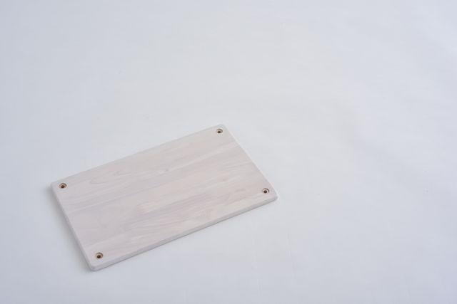 ラバーラック棚板 ホワイト450X280