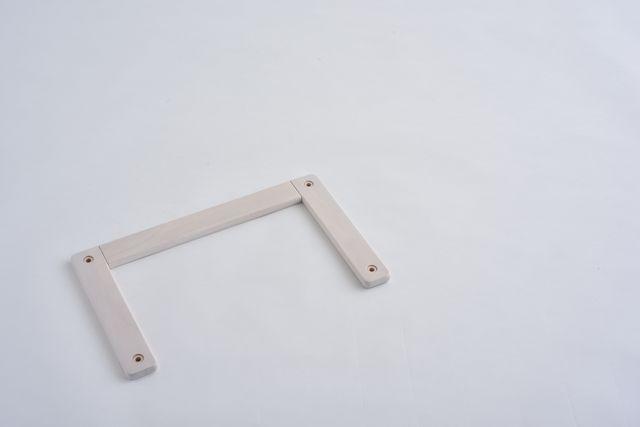 コの字ジョイント ホワイト450X280